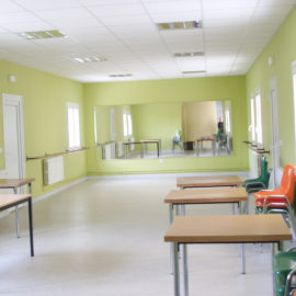 Reforma de aulas y comedores en Colegio San Agustín de Calahorra